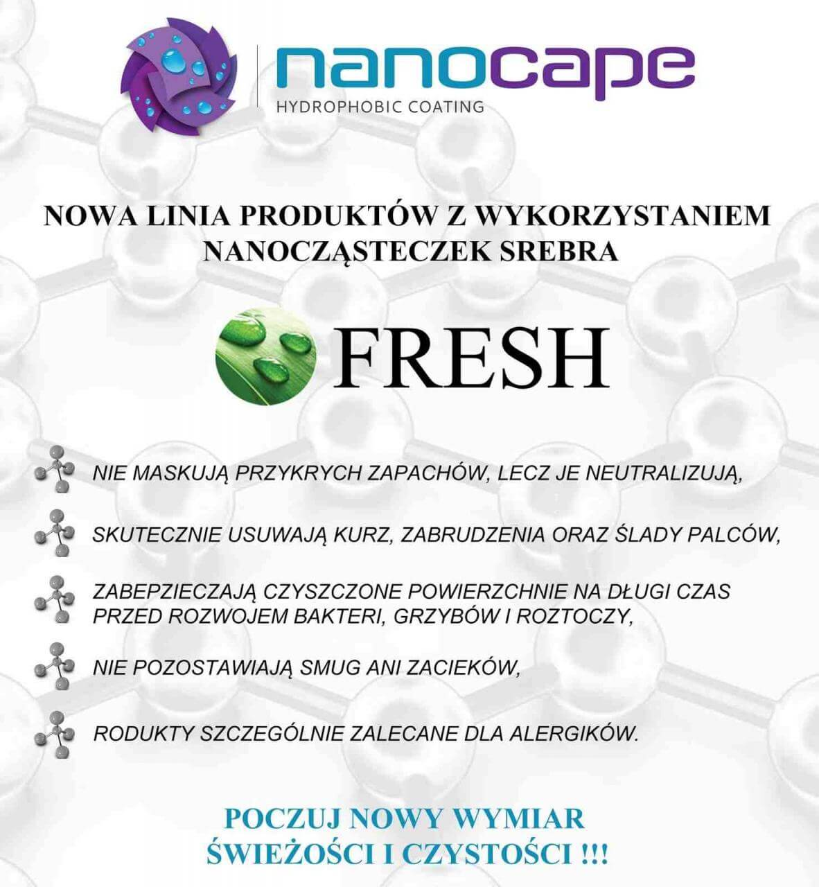 Nanocape fresh