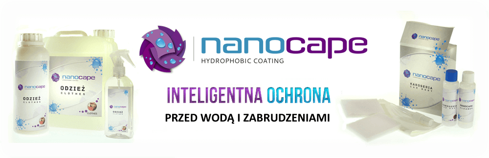 nanocape nanocleaner do łazienek