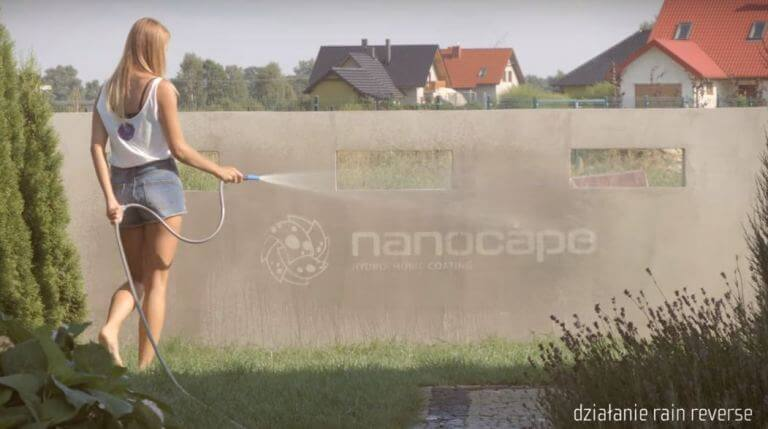 nanocape do dachów & tapicerki samochodowej