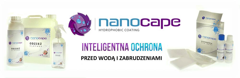 Nanocape do odzieży