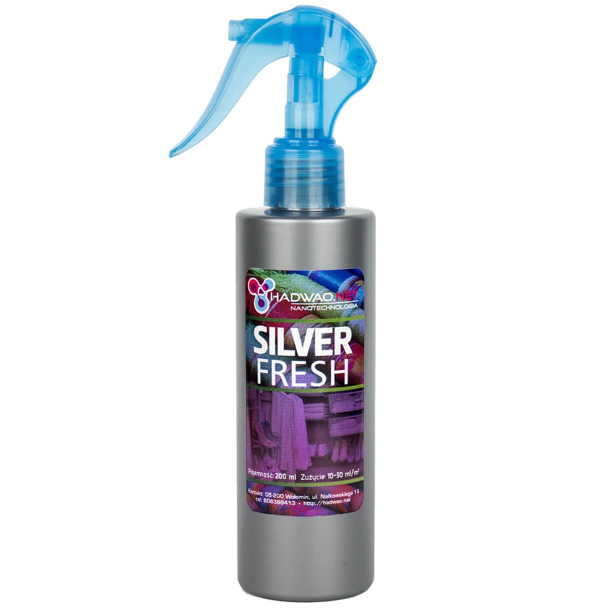 Silver Fresh Hadwao Odświeżacz Powietrza Tkanin Odzieży I Obuwia
