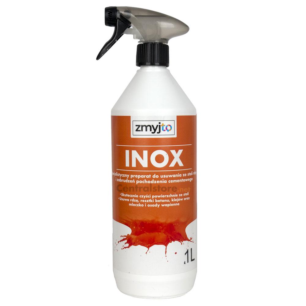 Inox Specjalistyczny Odrdzewiacz Do Usuwania Ze Stali Rdzy Kleju I Zabrudzeń Pochodzenia Cementowego